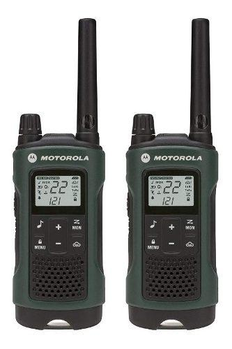 Par De Radios Motorola T465 56 Kilometros 22 Canales 26hrs
