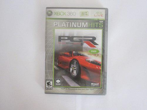 Pgr 3 Xbox 360 Project Gotham Racing 3 Envio Gratis