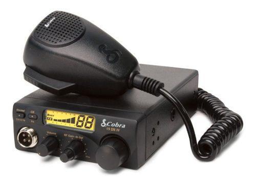 Radio Cb Cobra 19dx Iv Con Microfono 40 Canales