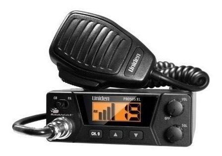 Radio Cb Uniden Pro 505 Con Microfono 40 Canales