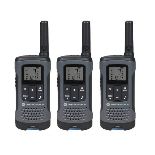 Radio Motorola Talkabout T200 3 Pack Walkie Talkie 20 Millas