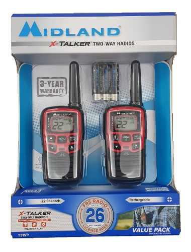 Radios Midland X-talker T31vp Dual Pack 26mi 41.6km Two Way