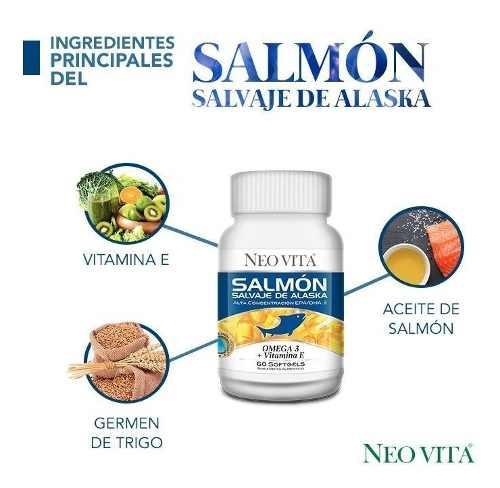 Salmón Salvaje De Alaska 2 Frascos