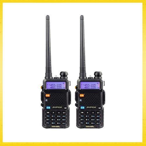 Set 2 Radios Profesional Portatil Baofeng Uv-5r Vhf/uhf