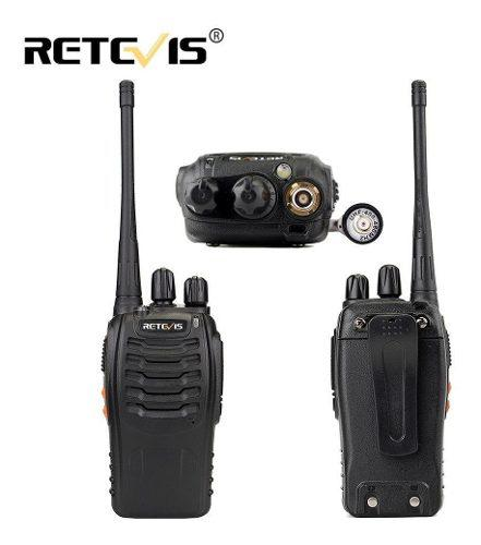 Set De 2 Radios Retevis H-777 Y 16 Canales Y Envio Gratis