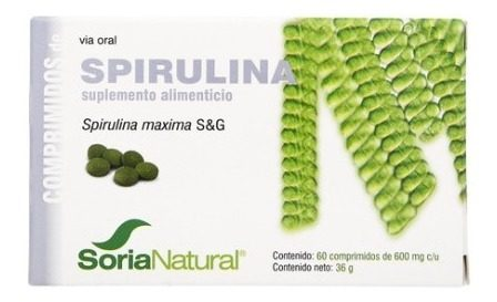 Spirulina Suplemento Alimenticio Soria Natural