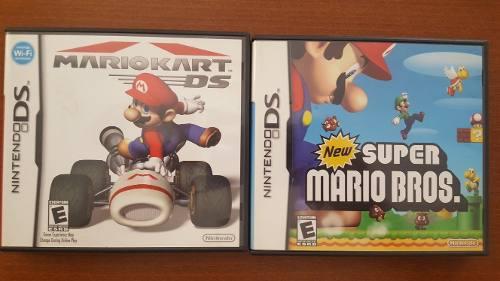 Super Mario Y Mario Kart Nintendo Ds