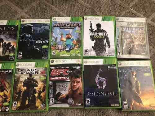 Vídeo Juegos De Xbox 360 Originales
