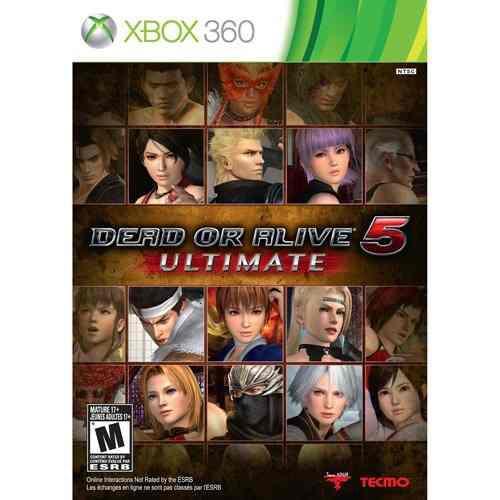 Videojuego Dead Or Alive Ultimate 5 - Xbox 360