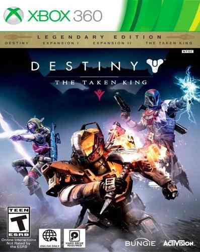 Videojuego Destiny The Taken King Le Xbox 360 Activision