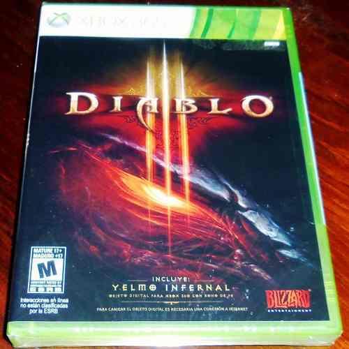 Videojuego Diablo Iii Edición Estándar Xbox 360 Sellado
