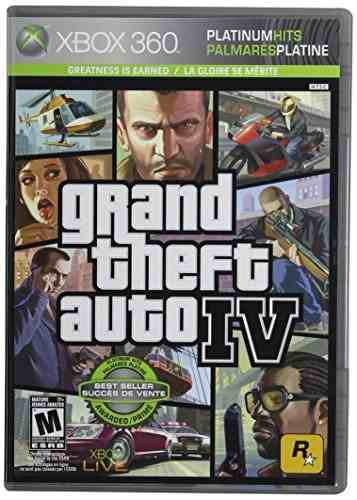Videojuego Grand Theft Auto Iv- Xbox 360