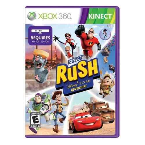 Videojuego: Kinect Rush: A Disney Pixar Adventure Para Xbox
