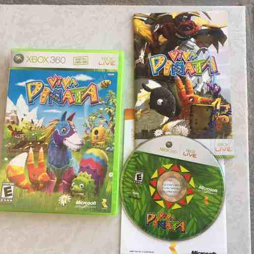 Viva Piñata Juegazo Completo Para Tu Xbox 360 Chécalo