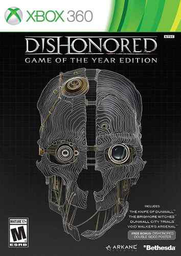 Xbox 360 Juego Dishonored Game Of The Year + Envío Gratis