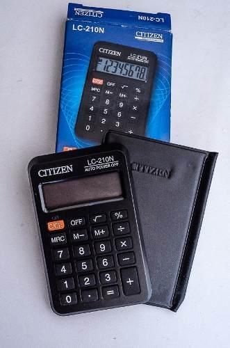 Calculadora De Bolsillo Citizen Lc-210n 8 Dígitos