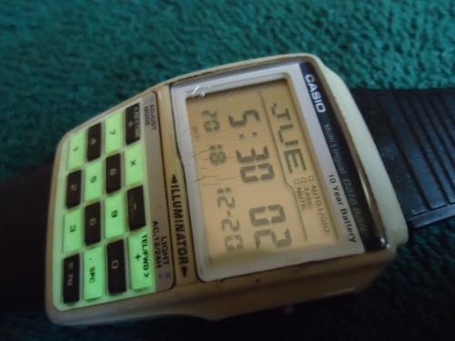 Casio Reloj De Calculadora Vintage