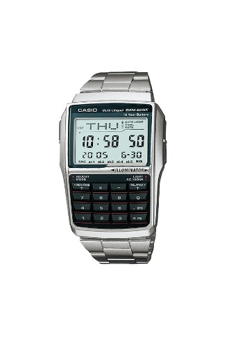 Reloj Casio Calculadora Dbc32 Data Bank Extensible Acero