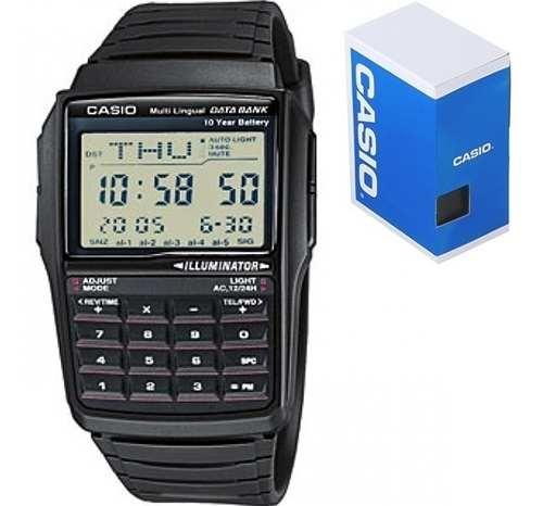 Reloj Casio Retro Vintage Dbc32 Caucho Calculadora Original