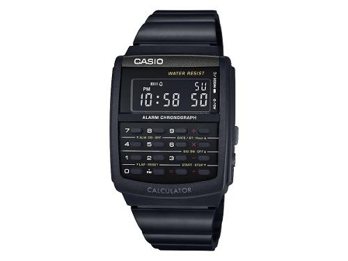 Reloj Casio Vintage Calculadora Negro