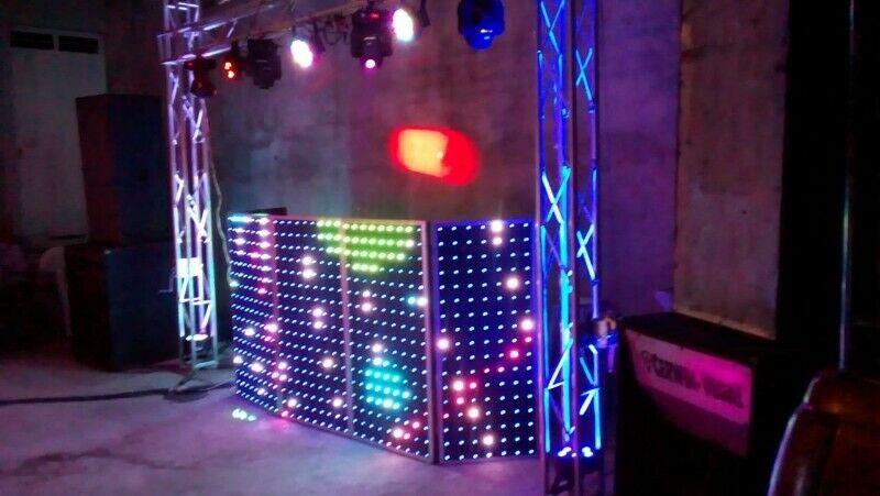 luz y sonido y teclados