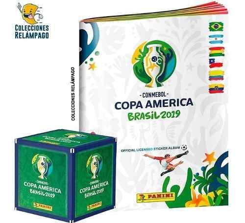 Albúm Copa America Brasil 2019 + Caja De Estampas + Envío