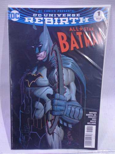 All Star Batman Rebirth Vol.1 Dc Comic´s Televisa 2017