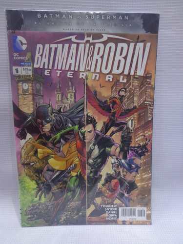 Batman Y Robin Eternal Vol.1 Dc Comic´s Televisa 2016