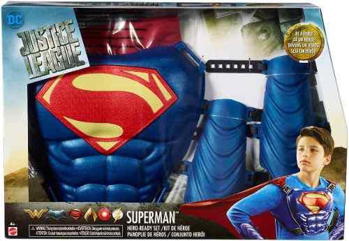 Batman Y Superman Kit De Heroe Dc Liga De La Justicia Fgm24