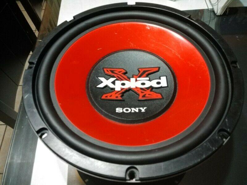 Bocina Subwoofers Sony De 12 Pulgadas