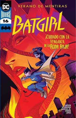Cómic Dc Universe Rebirth Batgirl # 16 Nuevo Español