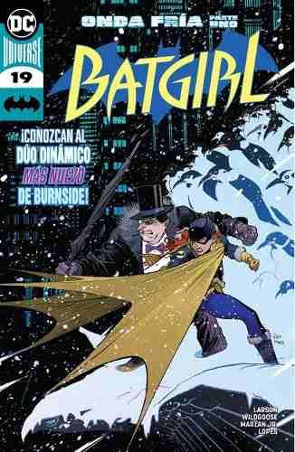 Cómic Dc Universe Rebirth Batgirl # 19 Nuevo Español