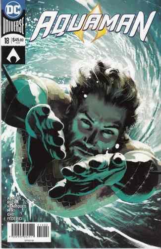 Comic Dc Universe Rebirth Aquaman # 18 Nuevo Español