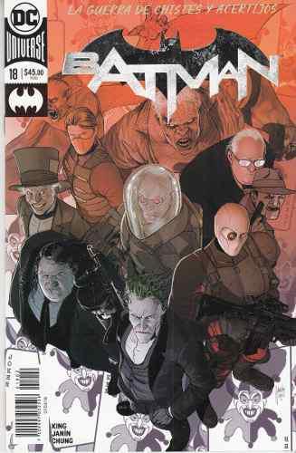 Comic Dc Universe Rebirth Batman # 18 Guerra De Chistes