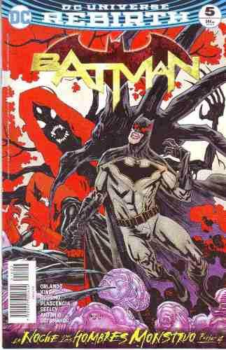 Comic Dc Universe Rebirth Batman # 5 Nuevo Español