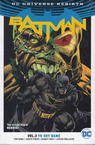Comic Dc Universe Rebirth Batman Volumen 3 Yo Soy Bane