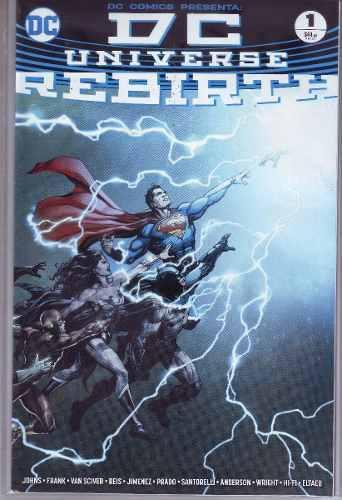Comic Dc Universe Rebirth Español, Nuevo Saga Inicial