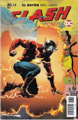 Comic Dc Universe Rebirth Flash # 13 El Boton Parte 4