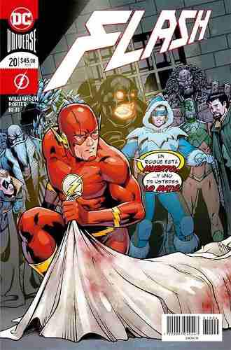 Comic Dc Universe Rebirth Flash # 20 Español Nuevo