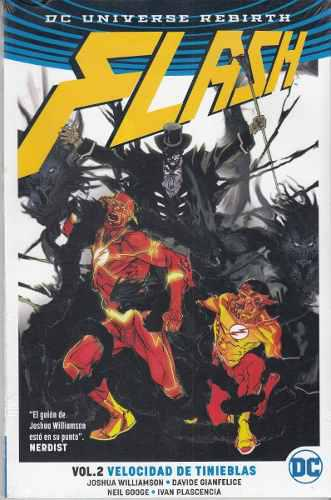 Comic Dc Universe Rebirth Flash Vol. 2 Velocidad Tinieblas
