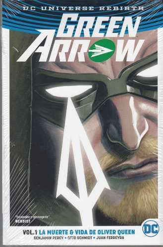 Comic Dc Universe Rebirth Green Arrow Vol. 1 La Muerte