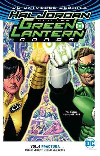 Comic Dc Universe Rebirth Green Lantern Volumen 4 Sellado