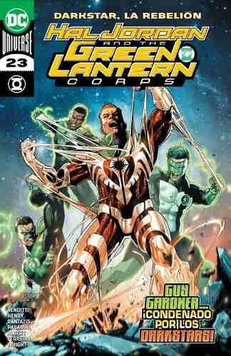 Comic Dc Universe Rebirth Hal Jordan And Green Lantern # 23