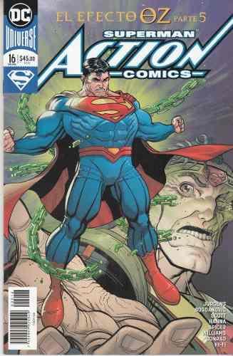 Comic Dc Universe Rebirth Superman Action Comics # 16 Nuevo