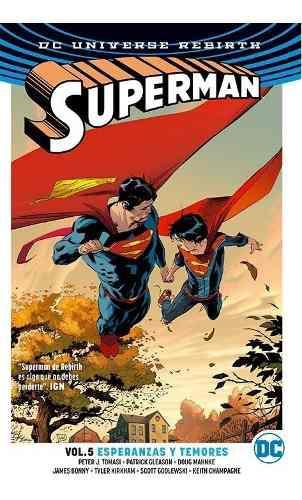 Comic Dc Universe Rebirth Superman Volumen 5 Esperanzas