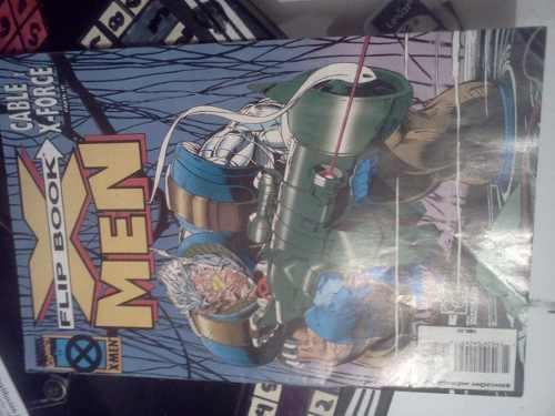 Comic X Men Flip Book Cable Y X Force Hellrider