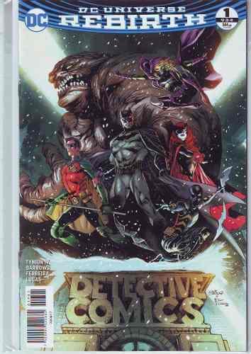 Comics Dc Universe Rebirth Batman Detective Comics # 1 Nuevo