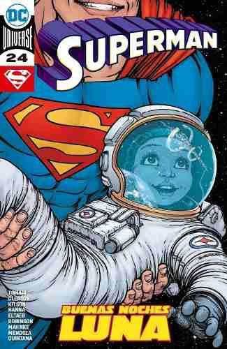 Comics Dc Universe Rebirth Superman # 24 Buena Noches Luna