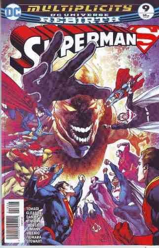 Comics Dc Universe Rebirth Superman # 9 Nuevo