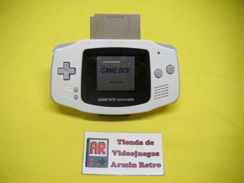 Consola Gameboy Advance Blanca Con Un Juego A Escoger